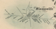 Sloansville, New York 1856 Old Town Map Custom Print - Schoharie Co.