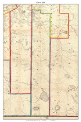 Colton, New York 1858 Old Town Map Custom Print - St. Lawrence Co.