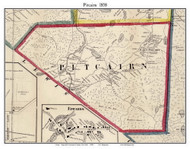 Pitcairn, New York 1858 Old Town Map Custom Print - St. Lawrence Co.