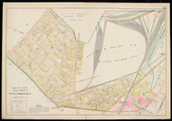 Plate 12, Somerville - part of Ward 1, 1900 - Old Street Map Reprint - Middlesex Co. Atlas Vol.1 - Cambridge Area