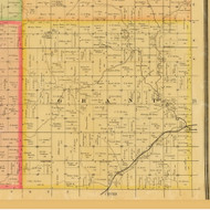 Grat, Iowa 1884 Old Town Map Custom Print - Adams Co.