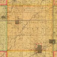 Quincy, Iowa 1884 Old Town Map Custom Print - Adams Co.