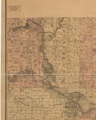 Union, Iowa 1887 Old Town Map Custom Print - Black Hawk Co.