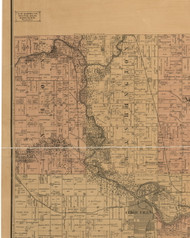 Washington, Iowa 1887 Old Town Map Custom Print - Black Hawk Co.
