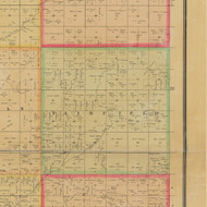 Fairfield, Iowa 1884 Old Town Map Custom Print - Buena Vista Co.