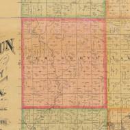 Elm Grove, Iowa 1884 Old Town Map Custom Print - Calhoun Co.