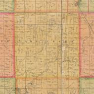 Lake Creek, Iowa 1884 Old Town Map Custom Print - Calhoun Co.
