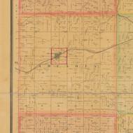Arcadia, Iowa 1884 Old Town Map Custom Print - Carroll Co.