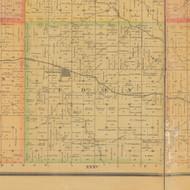 Eden, Iowa 1884 Old Town Map Custom Print - Carroll Co.