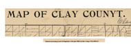Title of Source Map - Clay Co., Iowa 1896 - NOT FOR SALE - Clay Co.