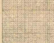 Clay, Iowa 1896 Old Town Map Custom Print - Clay Co.
