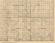 Herdland, Iowa 1896 Old Town Map Custom Print - Clay Co.