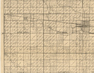 Lone Tree, Iowa 1896 Old Town Map Custom Print - Clay Co.