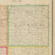 Jackson, Iowa 1883 Old Town Map Custom Print - Crawford Co.