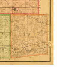 Boone, Iowa 1883 Old Town Map Custom Print - Dallas Co.