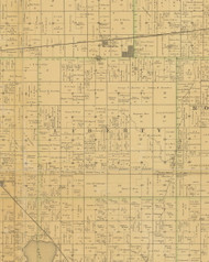 Liberty, Iowa 1883 Old Town Map Custom Print - Hamilton Co.
