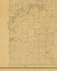 Marion, Iowa 1883 Old Town Map Custom Print - Hamilton Co.