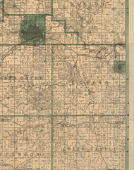 Le Grand, Iowa 1896 Old Town Map Custom Print - Marshall Co.