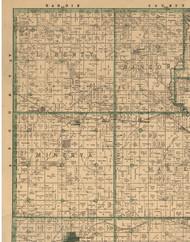 Liberty, Iowa 1896 Old Town Map Custom Print - Marshall Co.