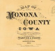 Title of Source Map - Monona Co., Iowa 1884 - NOT FOR SALE - Monona Co.