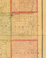 Remsen, Iowa 1884 Old Town Map Custom Print - Plymouth Co.