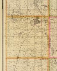 Washington, Iowa 1883 Old Town Map Custom Print - Story Co.