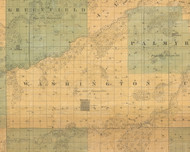 Washington, Iowa 1859 Old Town Map Custom Print - Warren Co.