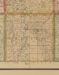 Willow, Iowa 1884 Old Town Map Custom Print - Woodbury Co.