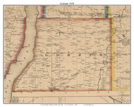 Gorham, New York 1859 Old Town Map Custom Print - Ontario Co.