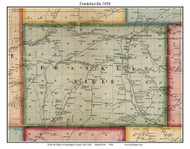 Franklinville, New York 1856 Old Town Map Custom Print - Cattaraugus Co.