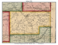 Ischua, New York 1856 Old Town Map Custom Print - Cattaraugus Co.