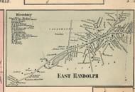 East Randolph Village, New York 1856 Old Town Map Custom Print - Cattaraugus Co.