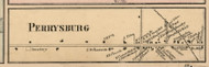 Perrysburg Village, New York 1856 Old Town Map Custom Print - Cattaraugus Co.