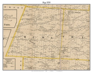 Riga, New York 1858 Old Town Map Custom Print - Monroe Co.