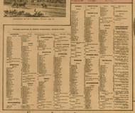 Ingham Co. Business Directory, Michigan 1859 Old Town Map Custom Print - Ingham Co.