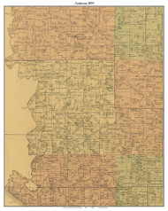Anderson, Indiana 1894 Old Town Map Custom Print - Perry Co.