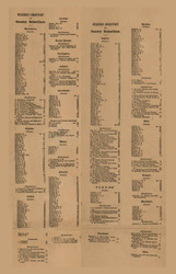 Business DIrectory, Michigan 1863 Old Town Map Custom Print - Lapeer Co.