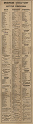 Business Directory, Monroe County, Michigan 1859 Old Town Map Custom Print -