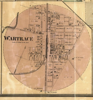 Wartrace Village, District 3, Bedford Co. Tennessee 1878 Old Town Map Custom Print Bedford Co.