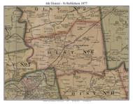 District No. 6 - St Bethlehem -Pea Ridge, 1877 Old Town Map Custom Print Montgomery Co.