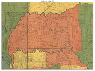 District 6 - Raleigh - Horn Lake, 1888 Old Town Map Custom Print Shelby Co.