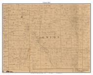 Union, Indiana 1863 Old Town Map Custom Print - St. Joseph Co.