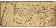 Tennessee 1795A Smith - Old State Map Reprint