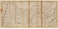 Tennessee 1795B Smith - Old State Map Reprint