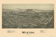 Weston, West Virginia 1900 Bird's Eye View