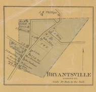 Bryantsville Village, Precinct 4, Kentucky 1879 Old Town Map Custom Print - Garrard Co.
