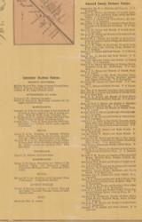Business Notices, Lancaster & Garrard Co., Kentucky 1879 Old Town Map Custom Print