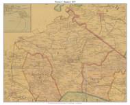 Precinct 1 - Stanford, Kentucky 1879 -  Lincoln Co.
