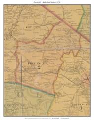 Precinct 2 - Halls Gap Station - Preachersville - Walnut Flats, Kentucky 1879 -  Lincoln Co.