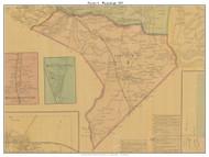 Precinct 4 - Waynesburgh - Kings Mountain, Kentucky 1879 -  Lincoln Co.